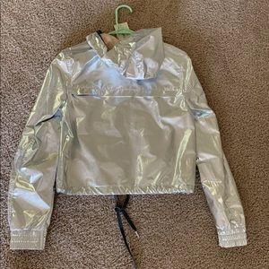 h&m Coachella hoodie rain Jacket